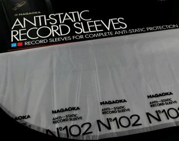 Nagaoka 102 Anti-static Record Sleeves