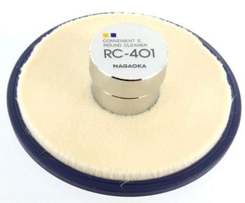 Nagaoka RC-401 Round Cleaner Record Weight