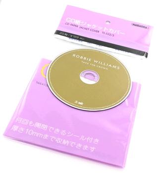 Nagaoka TS-522/3 CD paper jacket cover