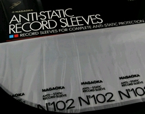 Nagaoka 102 Anti-static Record Sleeves